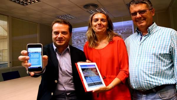 Imagen de la presentación de la web.