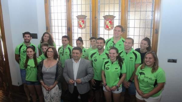 Recepción al Club Atletismo Jaén