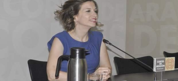 La portavoz adjunta del Grupo Parlamentario del PAR, María Herrero.