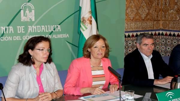 Ortiz presenta el estudio de hortícolas protegidos en Almería