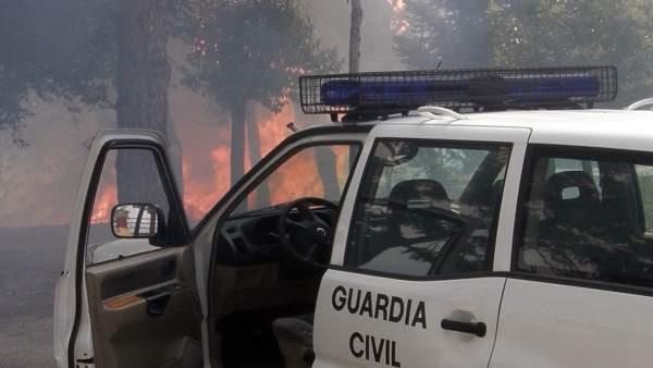 Incendio En La Provincia De Zamora