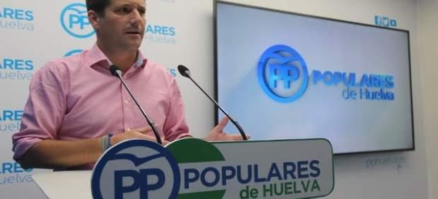 El parlamentario andaluz por Huelva Guillermo García Longoria.