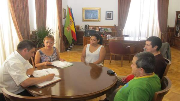 Reunión con la Asociación de Ecuatorianos Movimiento País de Jaén