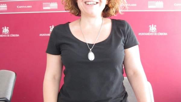 La delegada de Hacienda y Participación Ciudadana, Alba Doblas