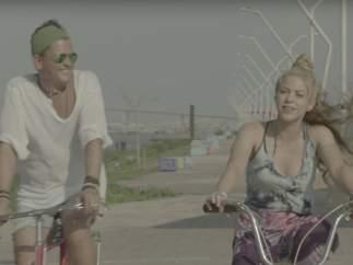 Shakira en 'La bicicleta'