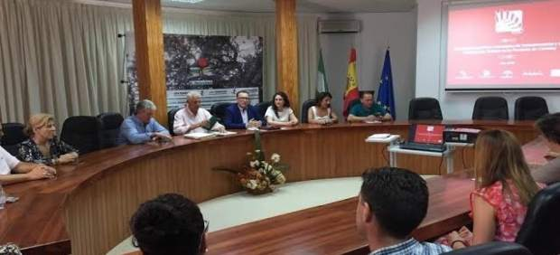 Reunión mantenida en la Mancomunidad de Los Pedroches