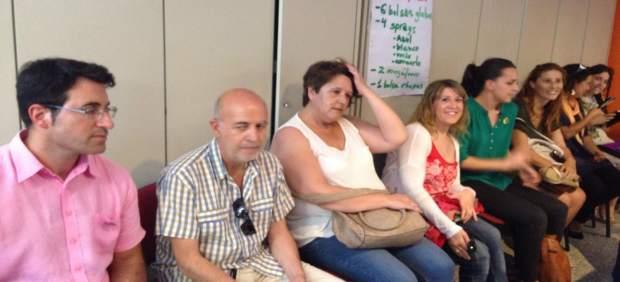 Participantes en el Consejo Ciudadano Autonómico de Podemos Galicia