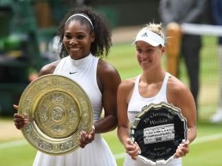 Serena y Kerber