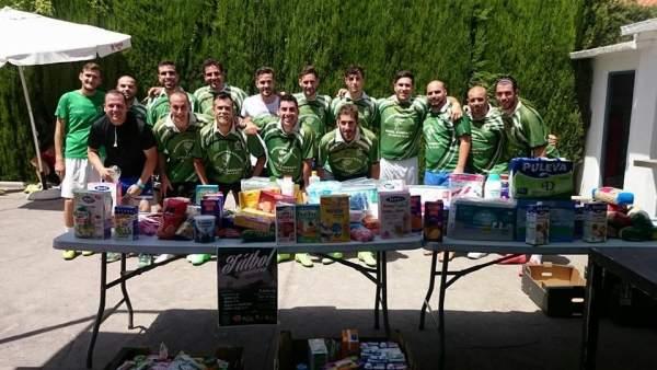 Vegas del Genil (Granada) recoge alimentos para niños necesitados