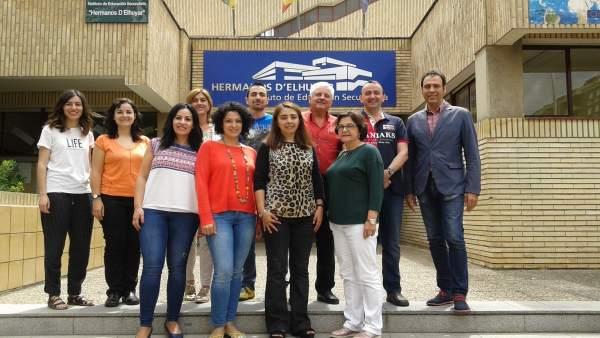 Profesores D'Elhuyar participan en proyecto europeo