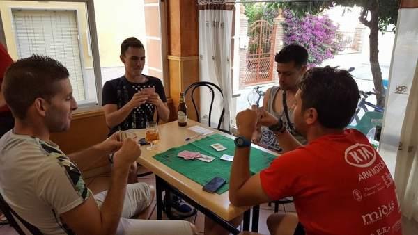 Campeonato del juego de cartas del Pellejo