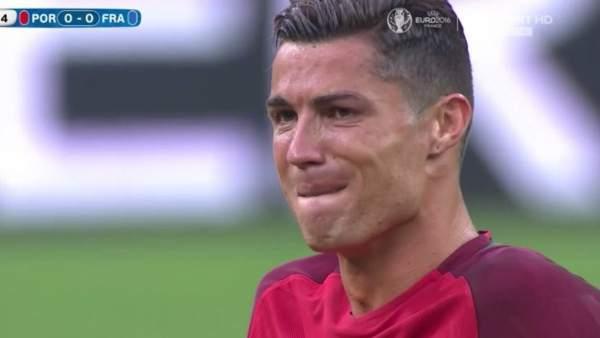 Cristiano, lesionado
