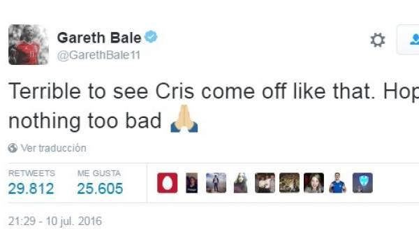 Tuit de Gareth Bale