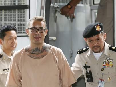 Artur Segarra, preso en Tailandia