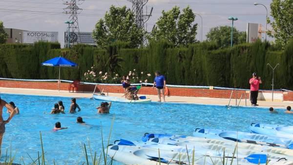 El 39 d a del ba ador opcional 39 llegar el 24 de julio a una for Piscina municipal arganzuela