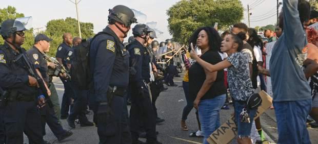Protestas raciales en Louisiana