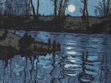 Hugo Henneberg, Der Blaue Weiher, um 1904