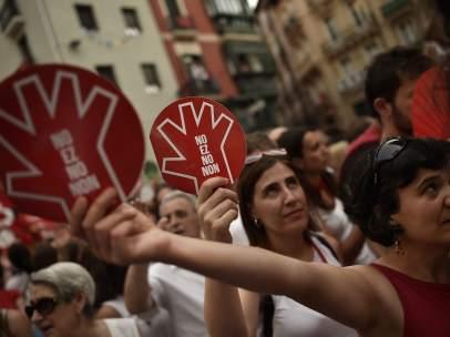 Contra las agresiones sexuales en Sanfermines