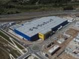 Construcción de la tienda de Ikea en Sabadell