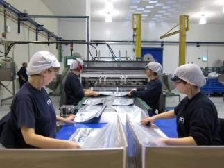 Trabajadoras en una fábrica