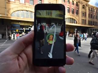 Los Pokemon corren por las calles de Australia