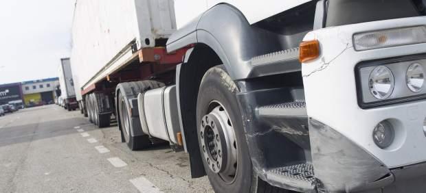 Un camión de transporte por carretera.