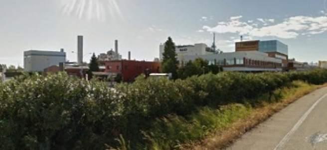 L'estació depuradora de BASF en la Canonja