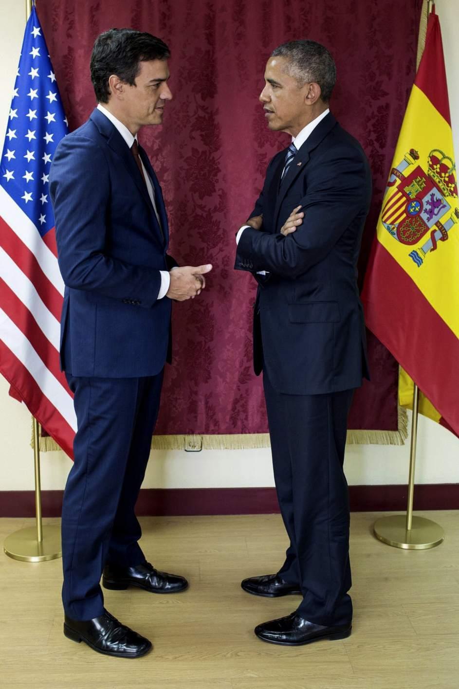 ¿Cuánto mide Pedro Sánchez? - Altura: 1,89 - Real height 314500-943-1416