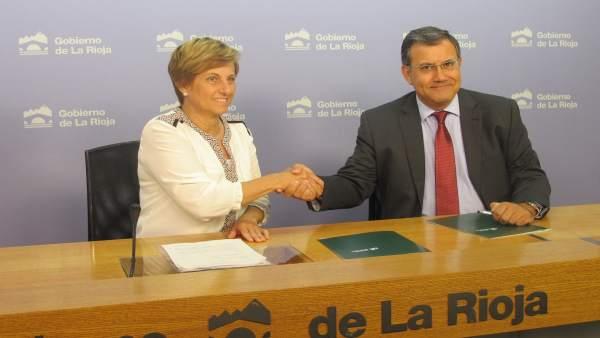 González Menorca y Colina, tras la firma