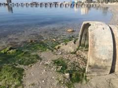 Suciedad en el Mar Menor