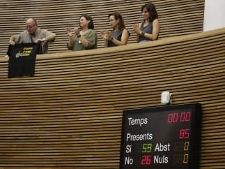 El pleno de Les Corts aprueba el dictamen de la comisión de investigación del accidente del metro de Valencia