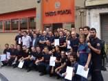 Nuevos bomberos del Consorcio