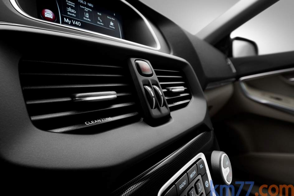 Interior del Volvo V40