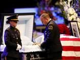 Funeral de 3 de los policías muertos en Dallas