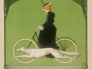 Rehm, Fritz (1871–1928): Plakat: Vitoria Fahrrad-Werke Aktiengesellschaft Nürnberg
