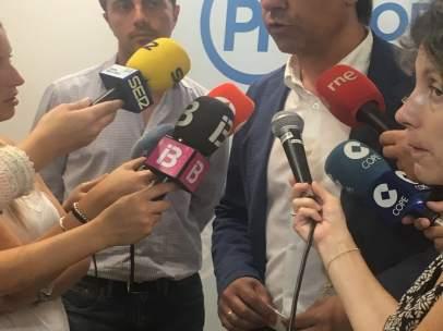 El vicesecretario de Organización y Electoral del PP, Fernando Martínez-Maíllo