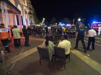 Caos en Niza