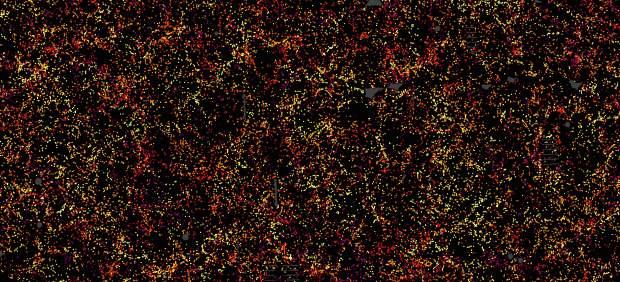 Mapa de 1.2 millones de galaxias