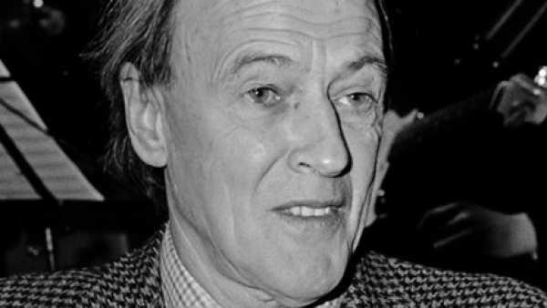 El escritor Roald Dahl