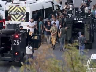 Detención de militares en Turquía