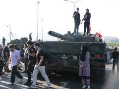 partidarios Erdogan Turquía golpe de Estado