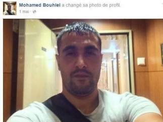 El otro Mohamed Bouhlel, en una foto de perfil de Facebook.