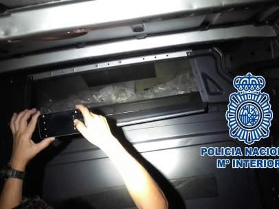 Policía Nacional interviene 34 kilos de cristal en Fuengriola