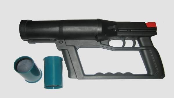 Arma incautada en una operación policial en Estepona