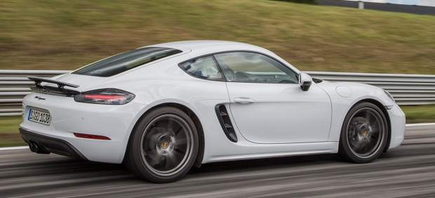 Porsche 718 Cayman Blanco Carrara