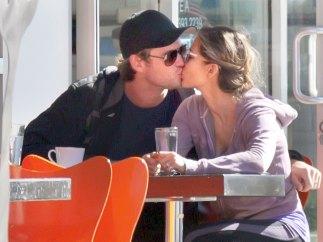El beso con 'Thor'