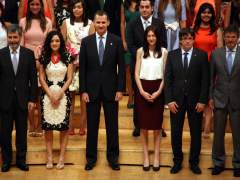 Felipe VI tendrá una apretada agenda en Barcelona con dos citas con Puigdemont