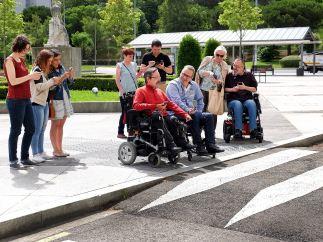 DisAPP, la aplicación que informa sobre rutas accesibles a las personas con movilidad reducida