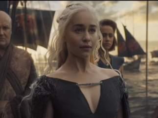 Daenerys llegando a Poniente en el final de la 6ª temporada de Juego de Tronos
