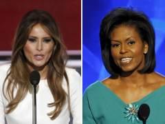 Melania Trump y Michelle Obama